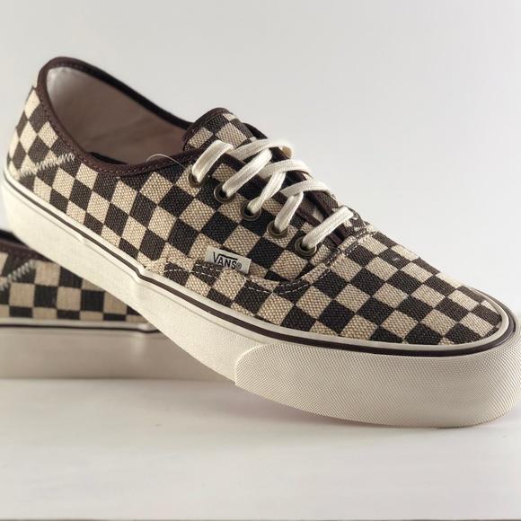 91f0e6c74b Vans Authentic SF Distressed Checker Shoes
